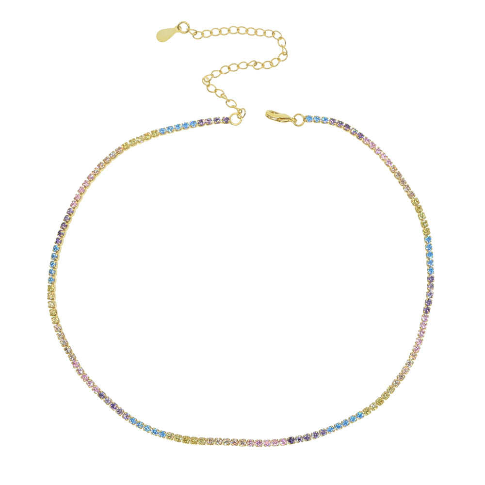 SWEET RAINBOW GOLDEN NECKLACE
