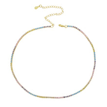 Load image into Gallery viewer, SWEET RAINBOW GOLDEN NECKLACE