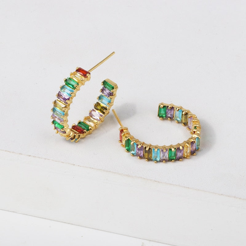 RAINBOW LOVELY EARRING