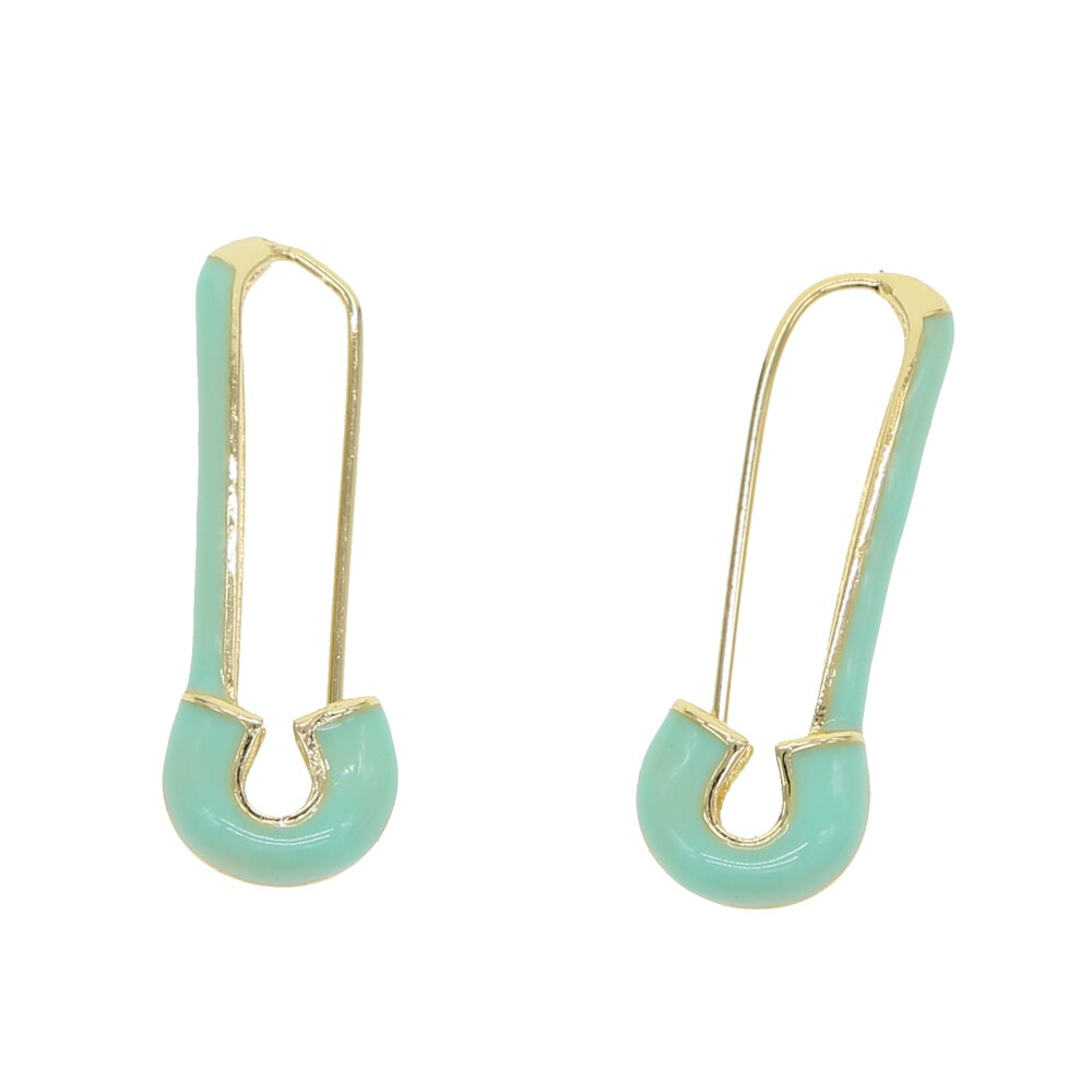 BLUE PIN EARRING
