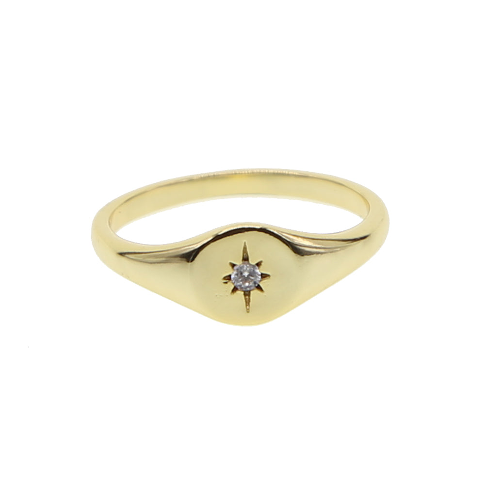 GOLDEN STAR RING