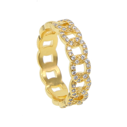 CHAIN GOLDEN RING