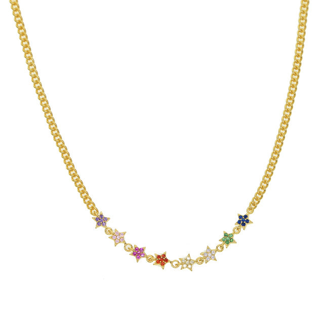 CUBAN STAR CHAIN