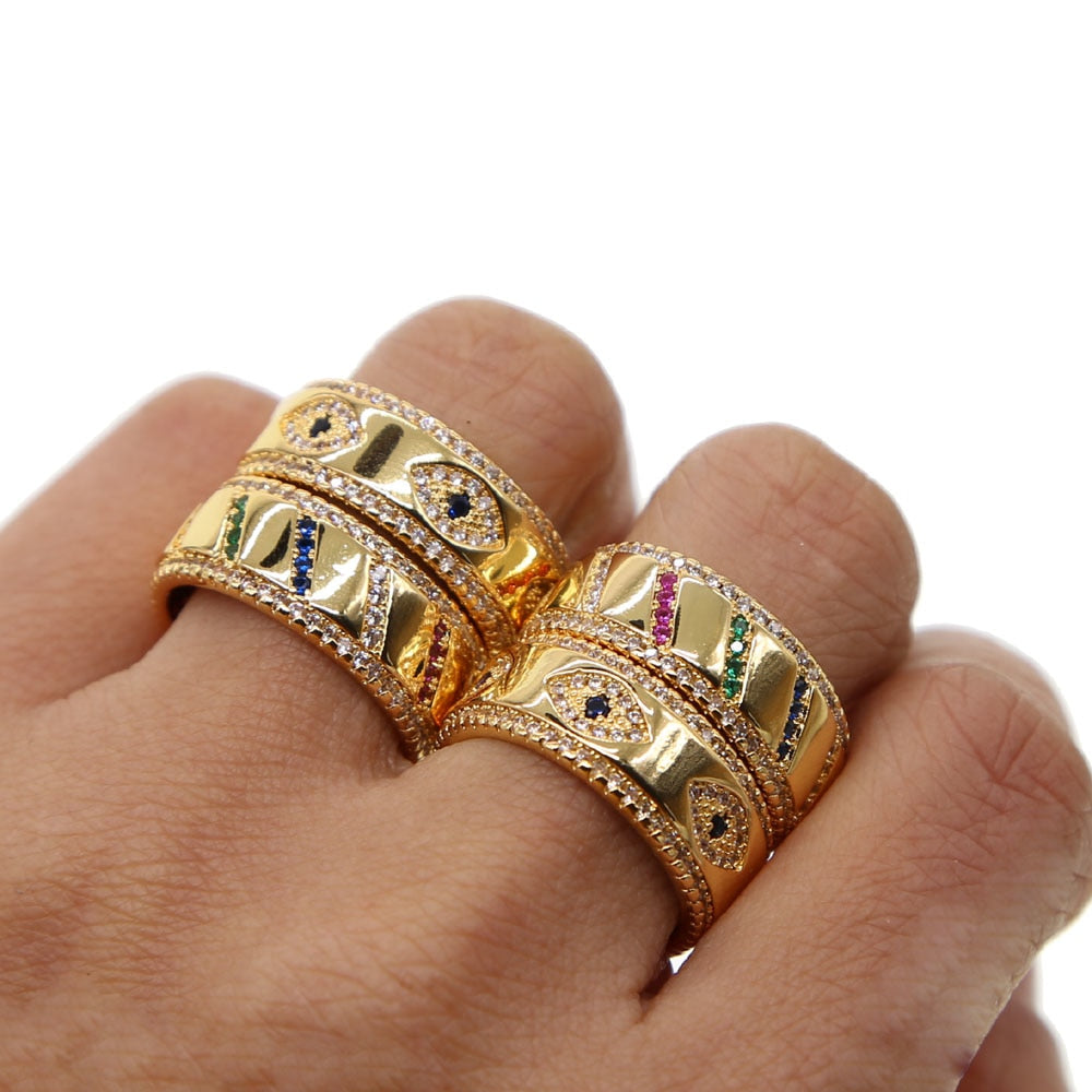 BAND RING COLORFUL
