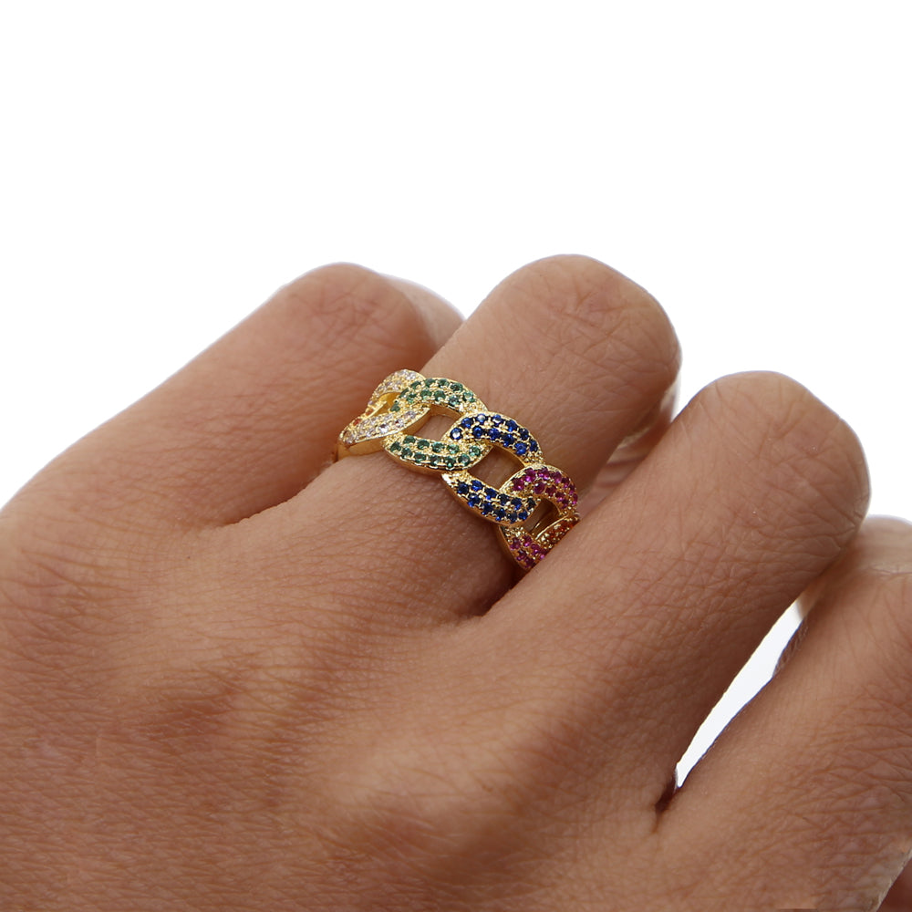 CUBAN COLOR RING