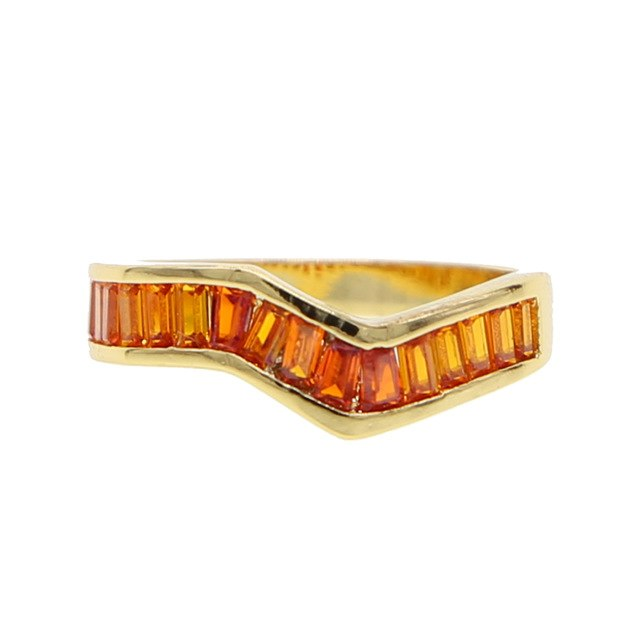 ORANGE RAINBOW RING