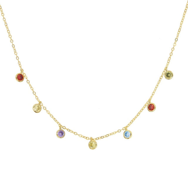 RAIN COLORS PASTEL NECKLACE