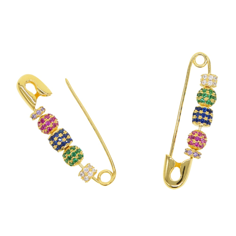 PIN RAINBOW JEWELS EARRINGS