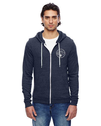 The Peaceful Warrior Shield Zip