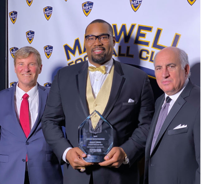 Steinberg-Denicola Humaitarian Award at the 83rd Maxwell Football Club Awards Gala