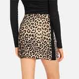 Leopard Printed Skirts