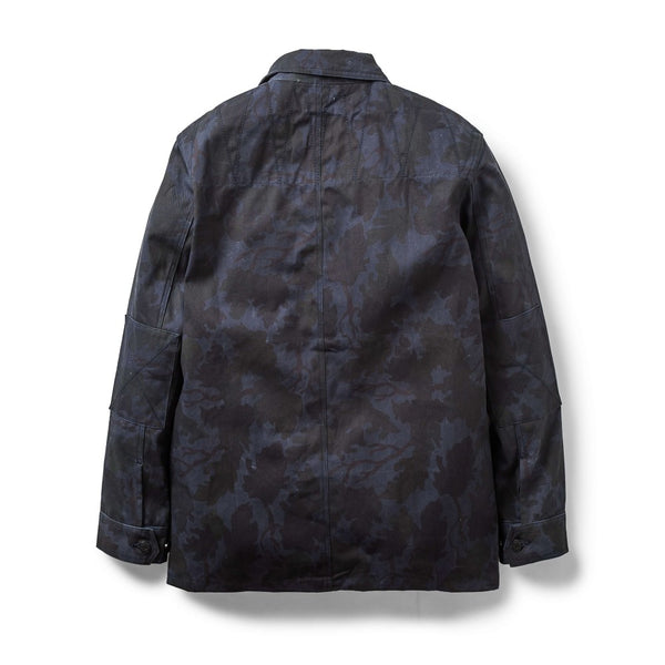 Ark Combat Jacket Mitchell Camo Navy