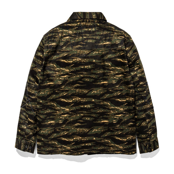 Ark Combat Jacket Tiger Camo