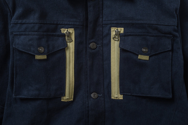 Ground Jacket Zip Mod Navy