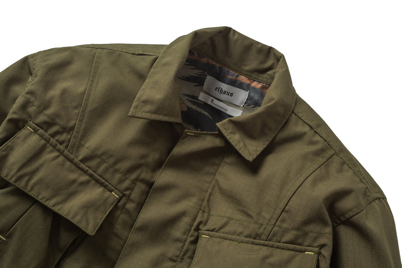 Jungle Jacket Digi Boro/Ripstop Olive