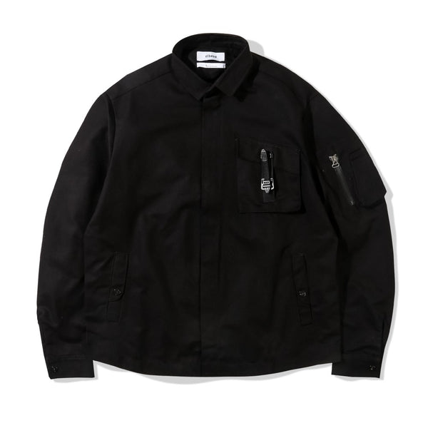 Drizzler Jacket Ghost Textile Black