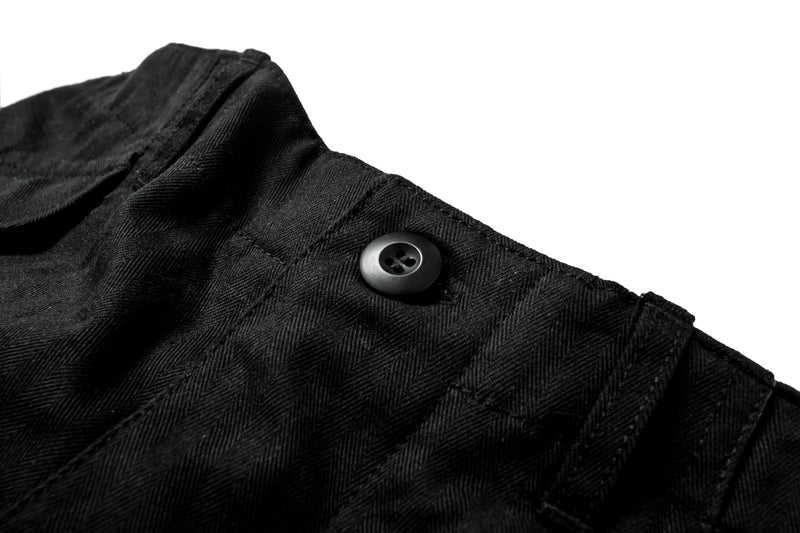Fender Pants Black Herringbone Twill