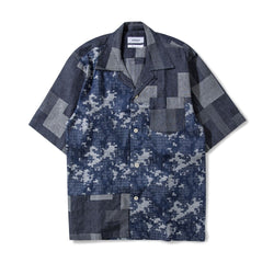 Glide Shirt Gentle Metal Patchwork