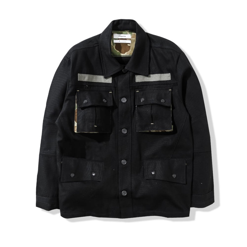 Ground Jacket Duck Black