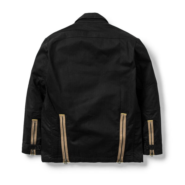 Ground Jacket Herringbone Black