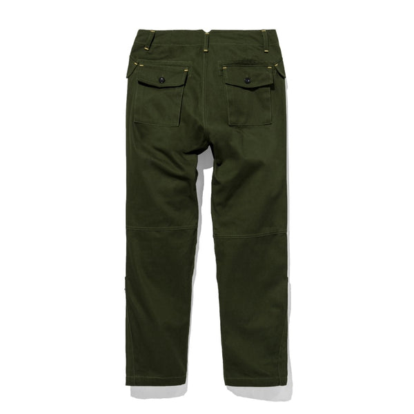 Jumper Pants Twill Olive