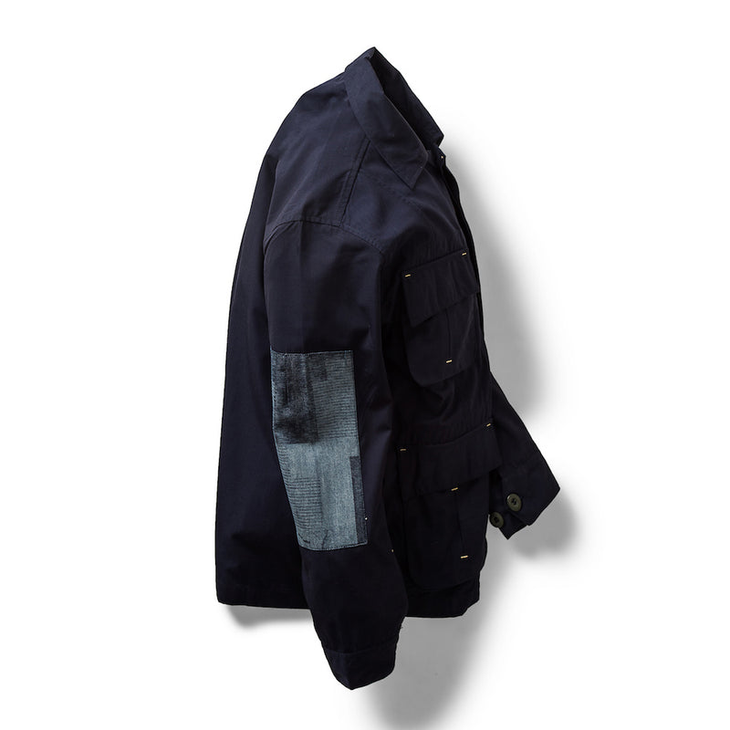 Jungle Jacket Digi Boro/Ripstop Navy