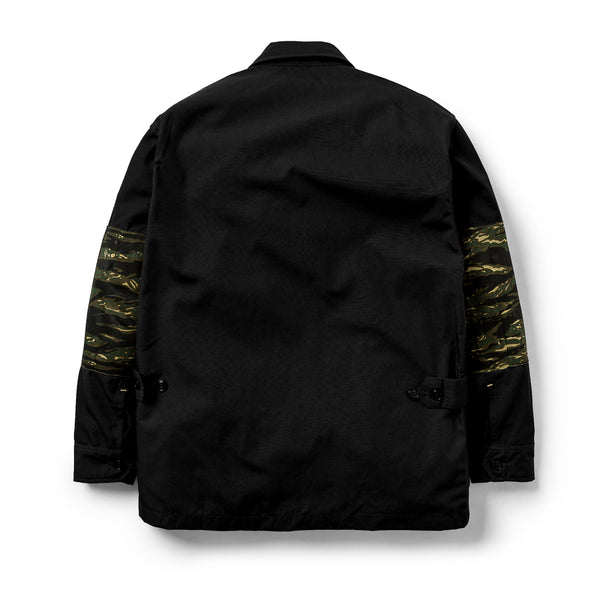 Jungle Jacket Ripstop/Tiger Camo Black