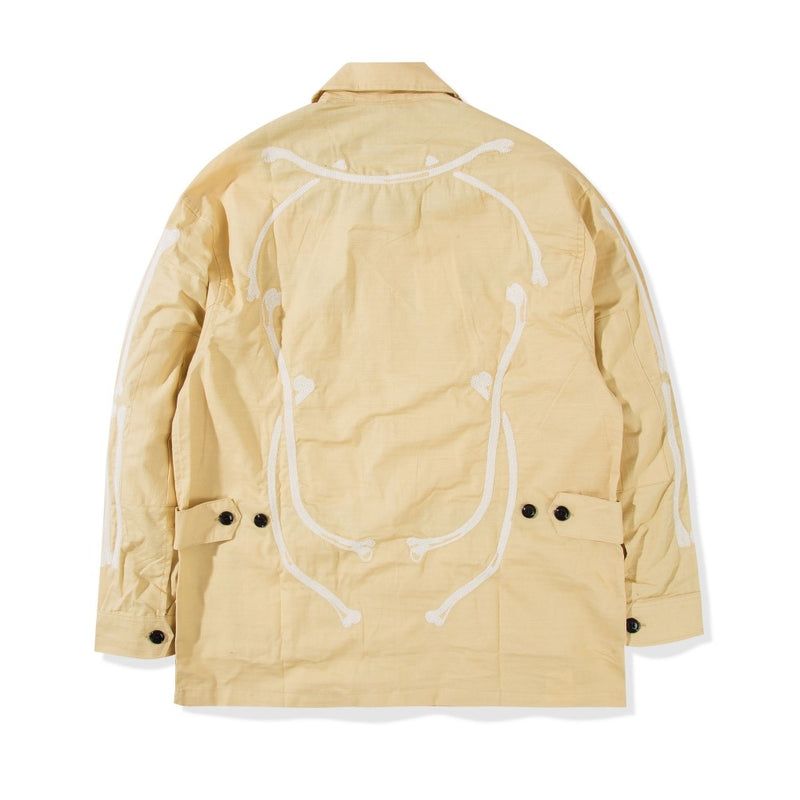 Jungle Jacket Slub Skull Khaki