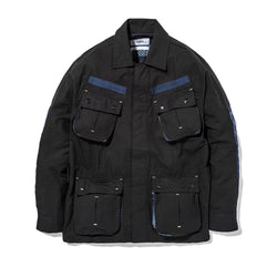 Jungle Jacket Slub/Digi Boro Black