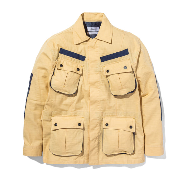 Jungle Jacket Slub/Digi Boro Khaki