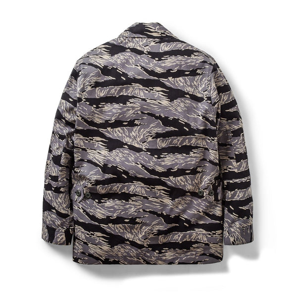 Jungle Jacket Tiger Camo Black