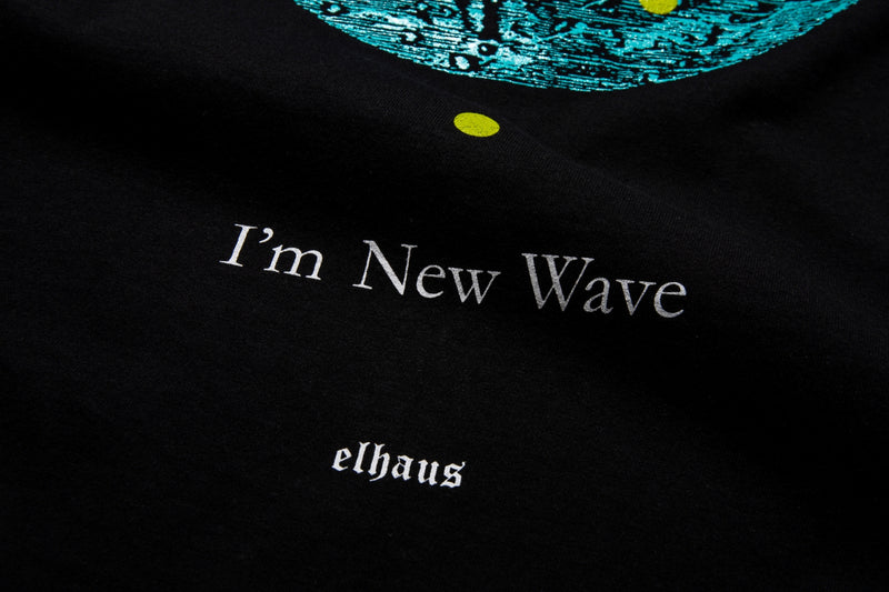 New Wave T-shirt Black