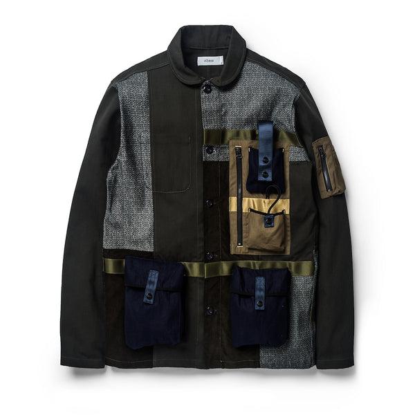 Nomad Coverall Patchwork Olive