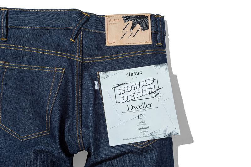 Nomad Denim Dweller 15oz Indigo