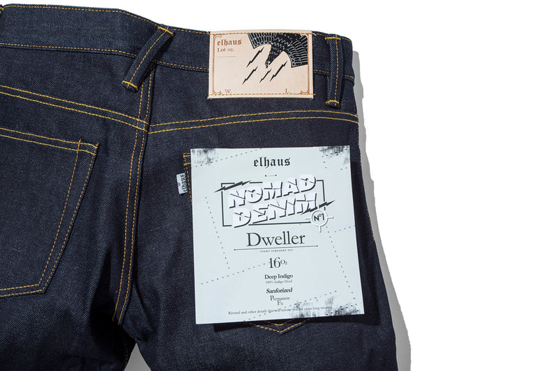 Nomad Denim Dweller 16oz Deep Indigo