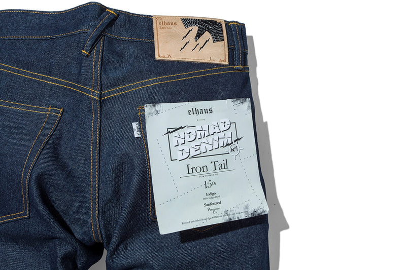 Nomad Denim Iron Tail 15oz Indigo
