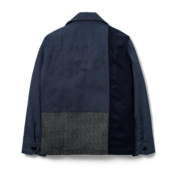 Field Shirt Patchwork Indigo