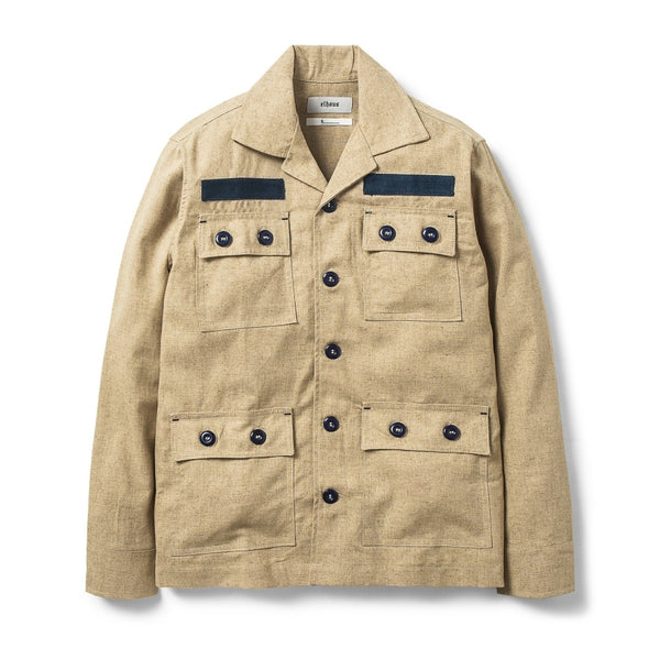 Field Shirt Selvedge Khaki