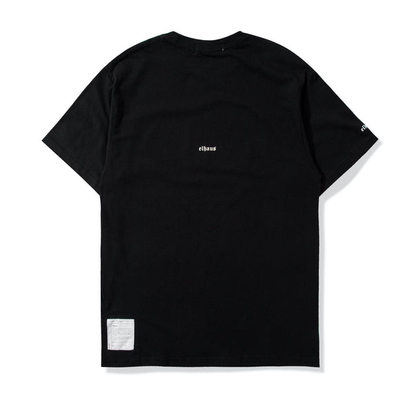 Pink Arc Glow T-shirt Black