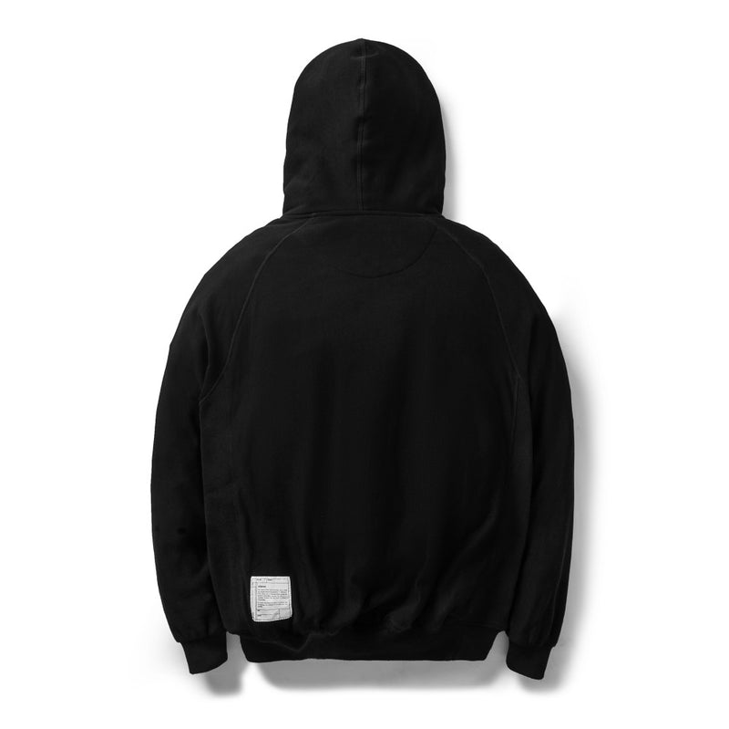 Classic Pullover Hoodie Full Black