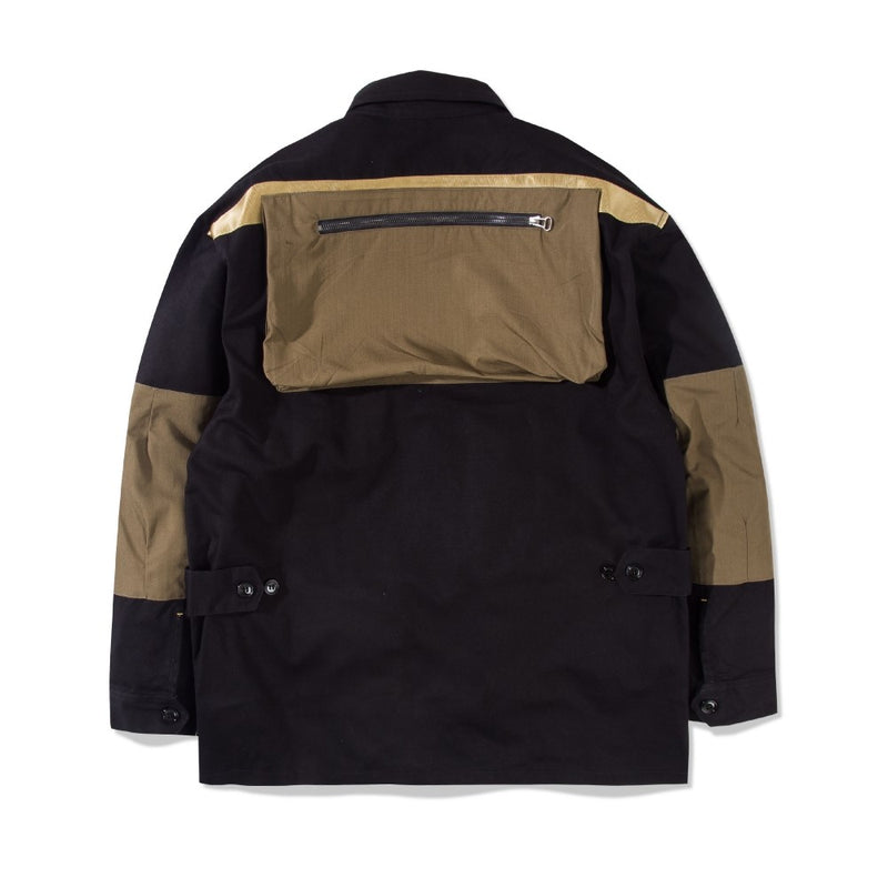 Service Jacket Ghost Textile Black
