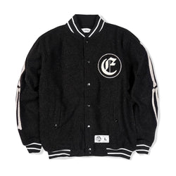 Skull Team Jacket Black
