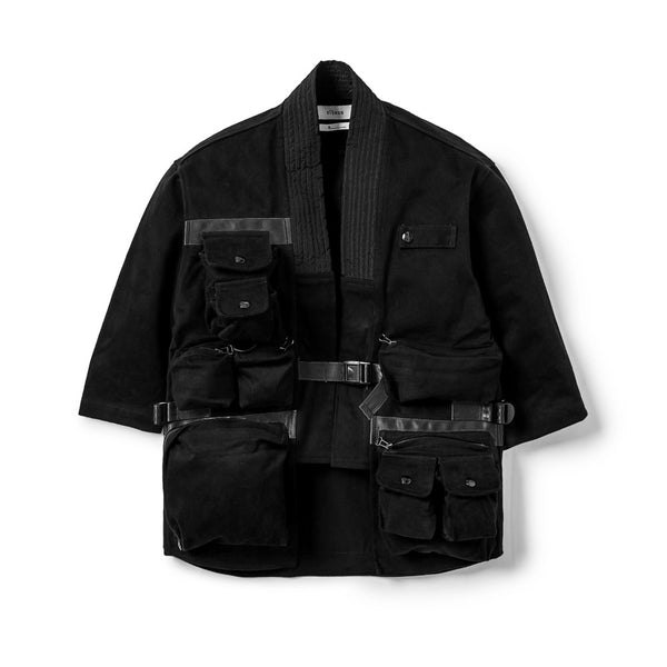 Vagabond Jacket Utility All Black