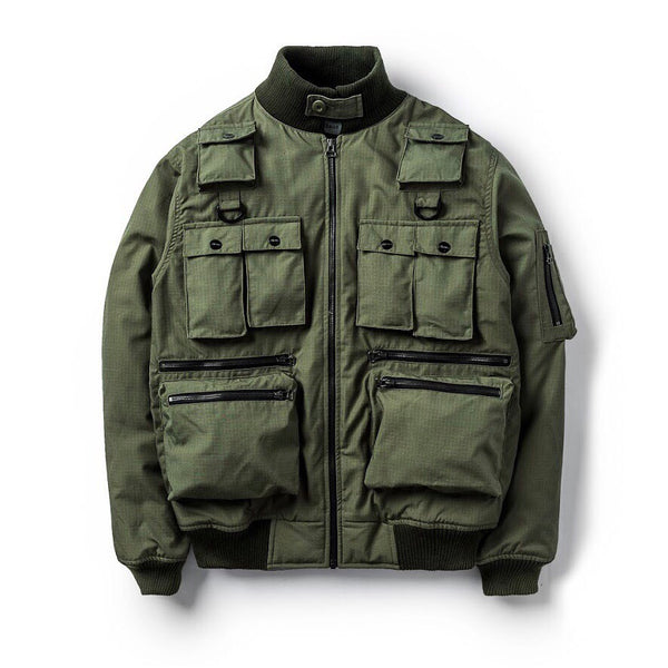 Hoover Jacket Utility Olive SS19
