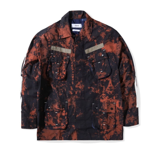 Jungle Jacket Slub Skull Acid Black