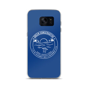 Samsung Green Conservative Blue Case
