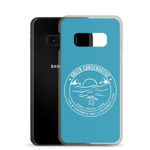 Samsung Green Conservative Turquoise Case
