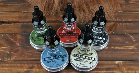 Beard Oil Balm Comb Manly