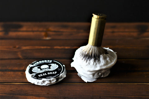 shave brush soap unscented
