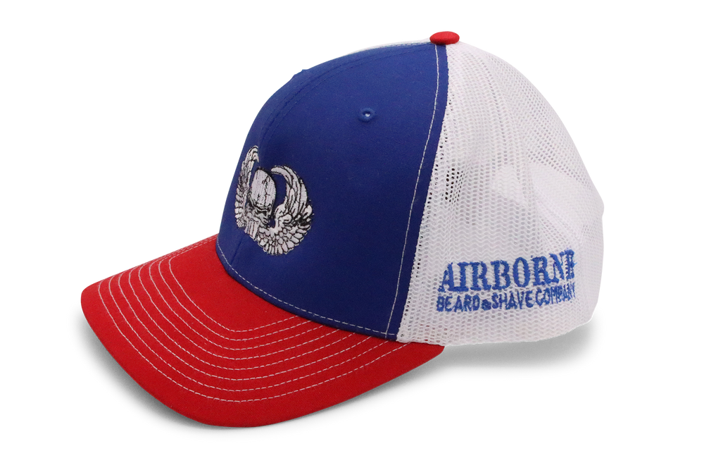 Patriot Shaded Cap - Airborne Beard and Shave Company